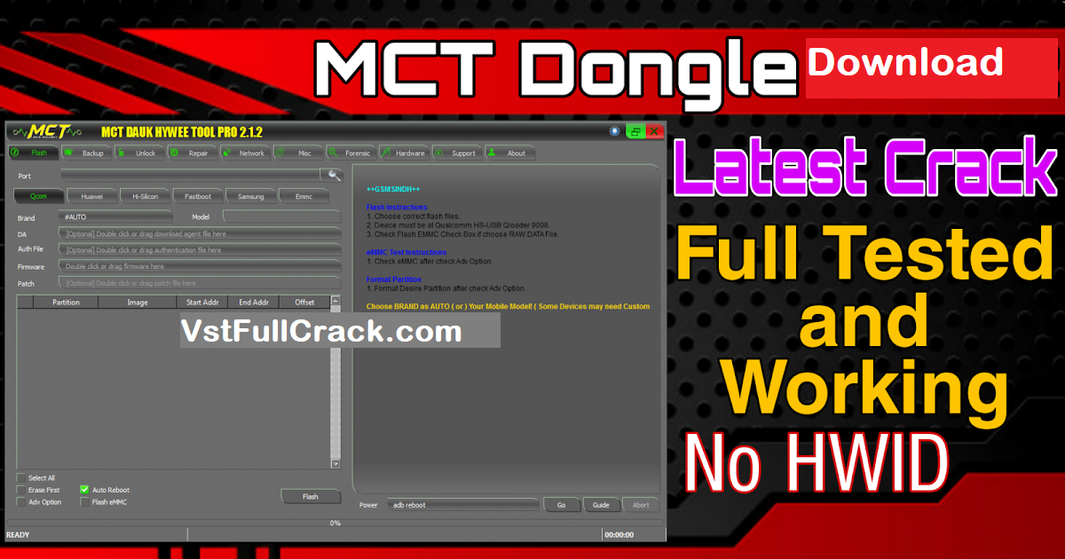 MCT Dongle 2021 Crack FREE Download [Without Box]!
