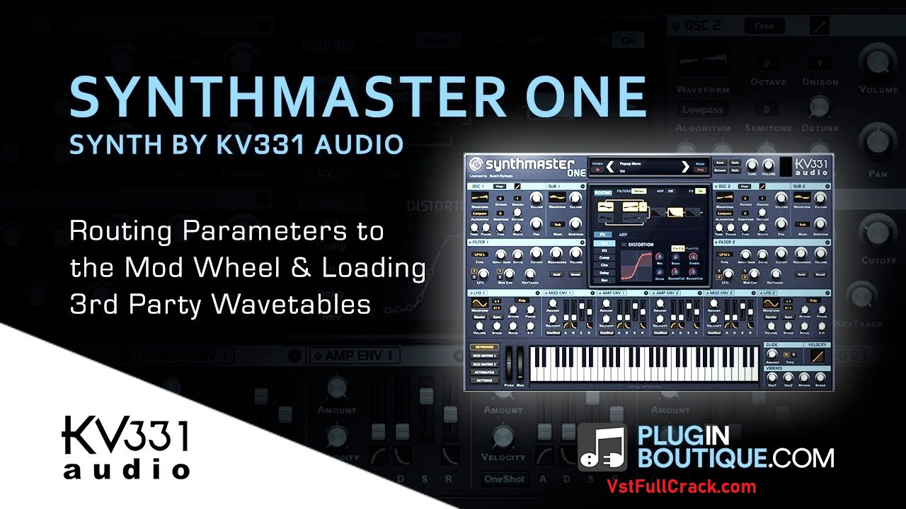 SynthMaster One by KV331 Audio - Synth (Wavetable) Plugin VST Audio Unit AAX
